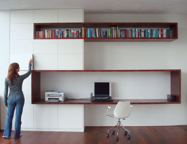 Prachtige werkruimte  u0026 kast op maat   studio ei    Meubelontwerp   kastontwerp   loft Amsterdam