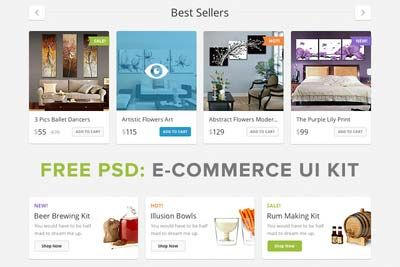 Check out the new Free Lucky Store PSD UI Kit exclusively on http://freebiefy.com/free-lucky-store-psd-ui-kit/ #Freebies, #UIKits