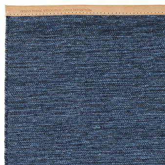 Björk Teppich groß blau - 200 x 300cm - Design House Stockholm