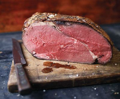 How To Make Perfect Roast Beef | Roast beef cold cuts should be tender, flavorful, paper thin, and rosy pink throughout. While testing recipes for this issue, we discovered how to cook roast beef at home just the way we like it. | By: Gabriella Gershenson | From: saveur.com