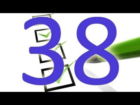 Gerçek Din 38/40 : Dinde Olanların Listesi - YouTube