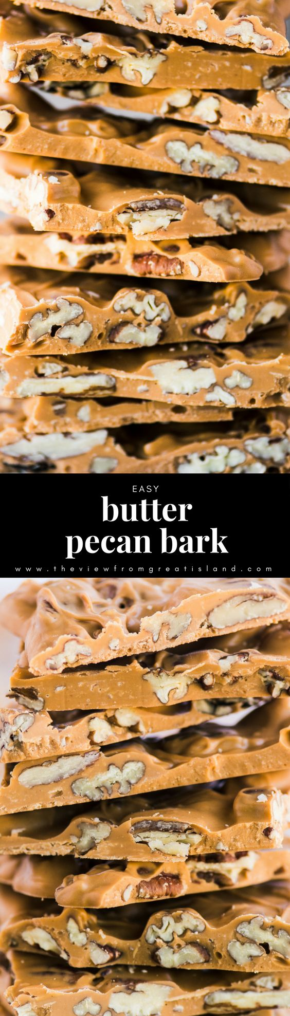 Easy Butter Pecan Bark