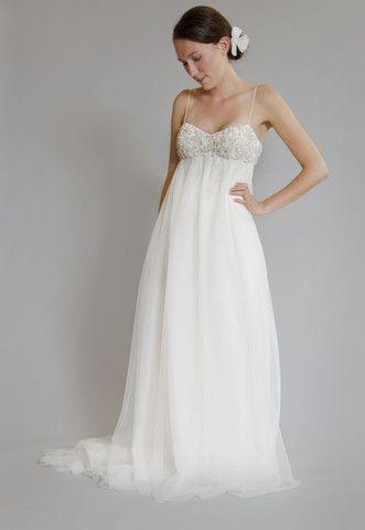 Amsale 'Juliette' Ivory Tulle Gown - Nearly Newlywed Wedding Dress Shop
