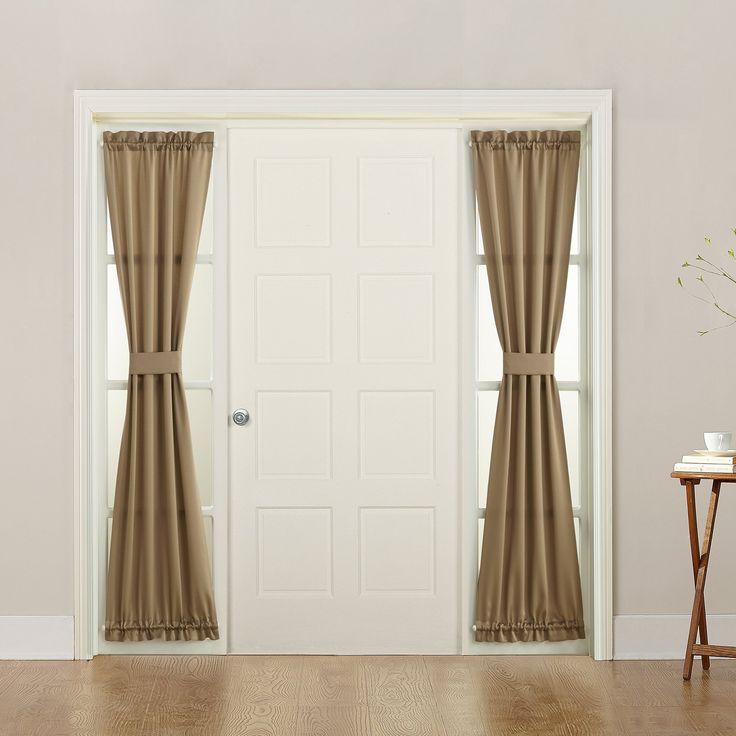 Sun Zero Grant Room Darkening 26 X 72 Sidelight Curtain Panel