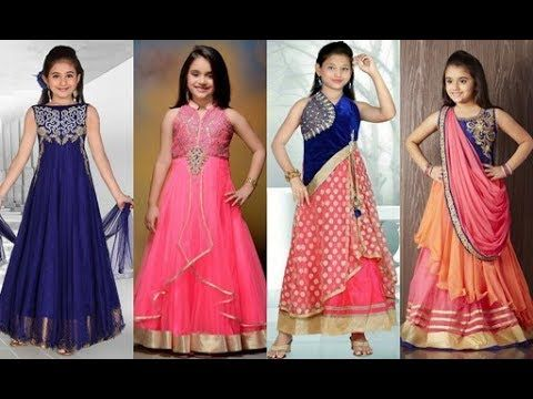 Cute Little Kids Salwar kameez Suit DesignsLittle Girls Punjabi Suit Designs | Designer Salwar Suit - YouTube