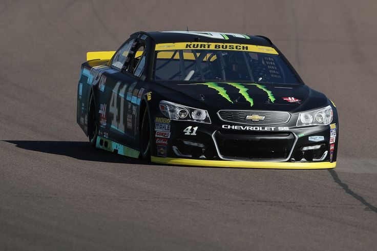 Kurt Busch, driver of the #41 Monster Energy/Haas Automation Chevrolet, practices for the NASCAR Sprint Cup Series Can-Am 500 at Phoenix International Raceway on November 11, 2016 in Avondale, Arizona.