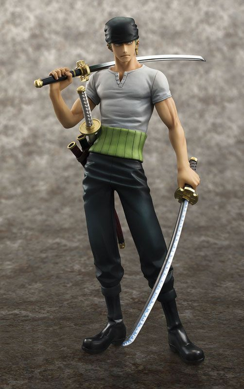Pas cher Anime One Piece POP Roronoa Zoro 10e anniversaire PVC Action Figure…