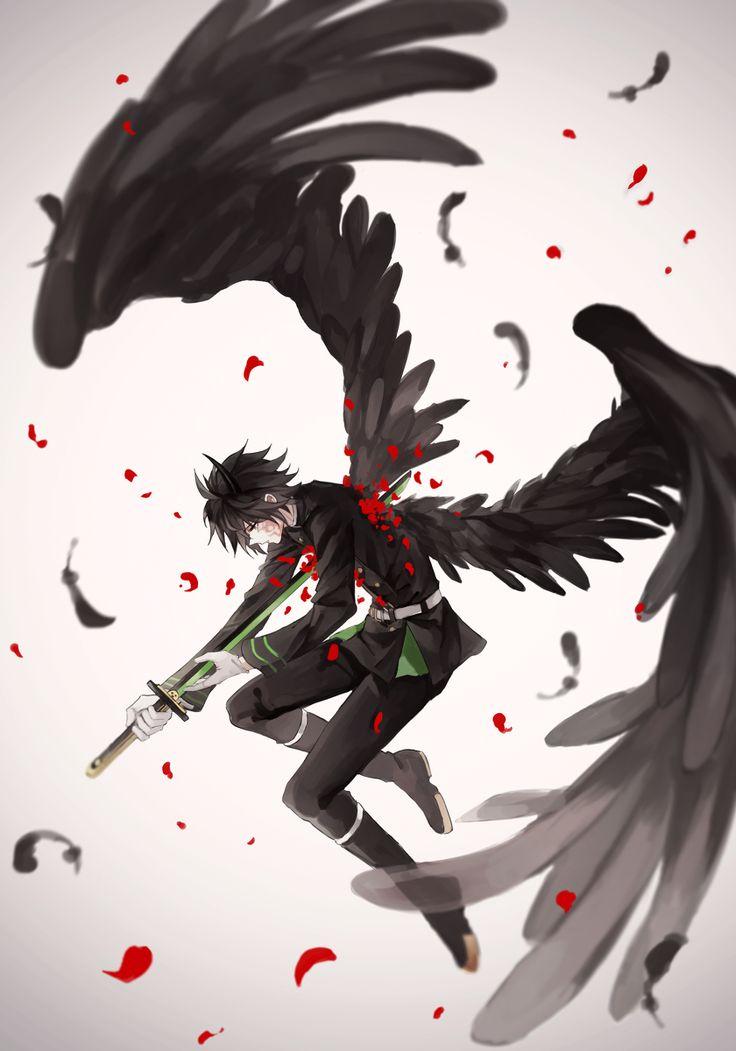Owari no Seraph / Seraph of the End - Hyakuya Yuuichirou / Yuu by 照衣 on pixiv