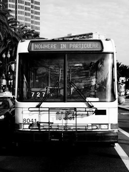 A bus to nowhere