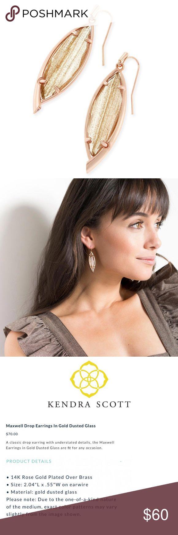 💋SALE. Kendra Scott Earrings Maxwell Drop. NWT Kendra Scott Jewelry Earrings