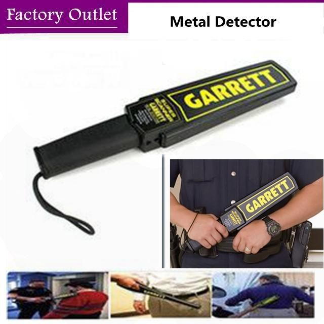 [Visit to Buy] Portable Metal Detector Professional Garrett Handheld Metal Detectors Superscanner security detector de metal altin dedektor #Advertisement