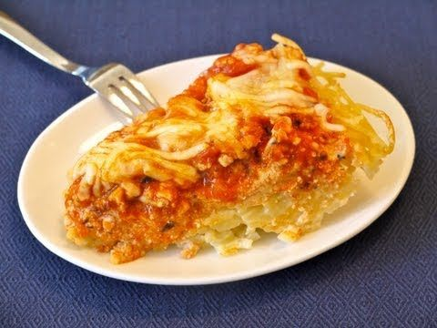 Easy Dinner Recipes for Kids: How to Make Spaghetti Pie