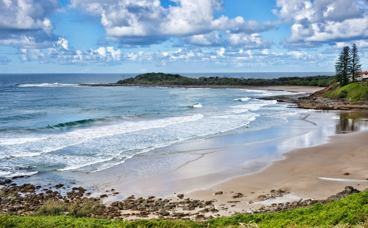 Beach - Yamba, NSW