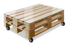 Paletten-Tisch bauen mit Anleitung