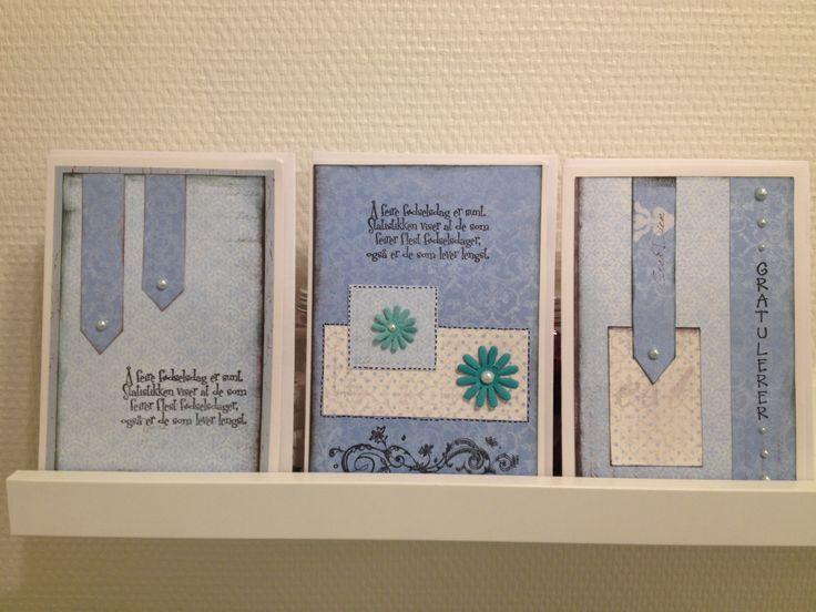 Cards - blue