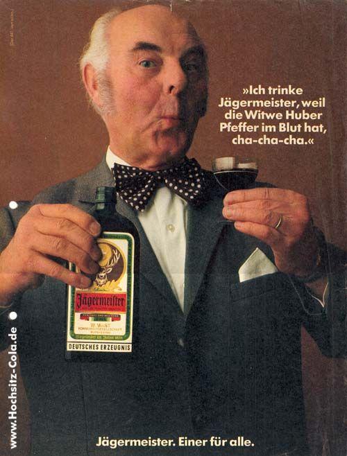 Ich trinke Jägermeister weil. 3162 belöse Sprüche von 1973 - 1986