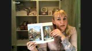 Валентина Сухова. Создание часов фрески. Шины