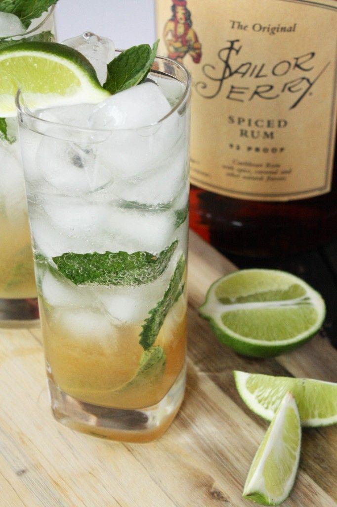 Dirty Mojito (w/Spiced Rum)