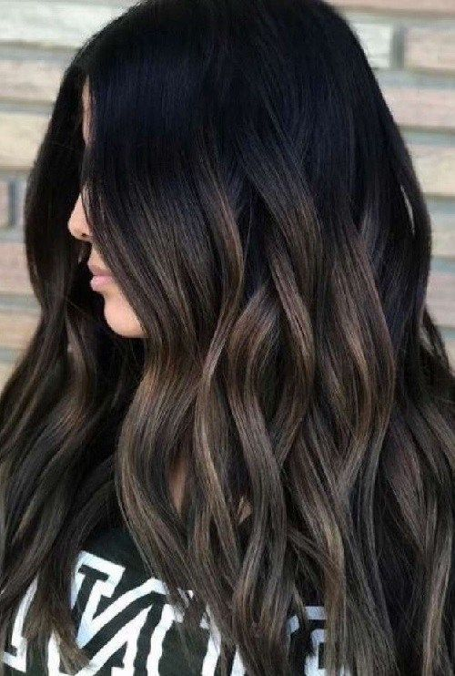 34 brunettes hair color