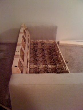 how to build your own sofa!