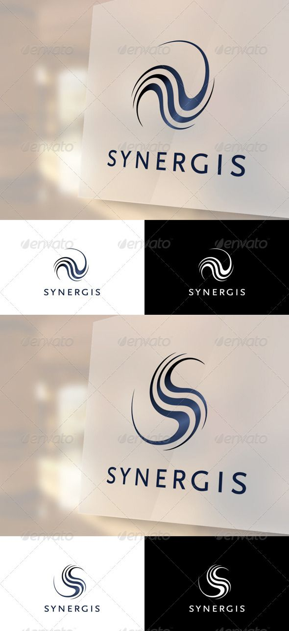 Synergis Logo Template — Vector EPS #sharp #clean • Available here → https://graphicriver.net/item/synergis-logo-template/2544943?ref=pxcr