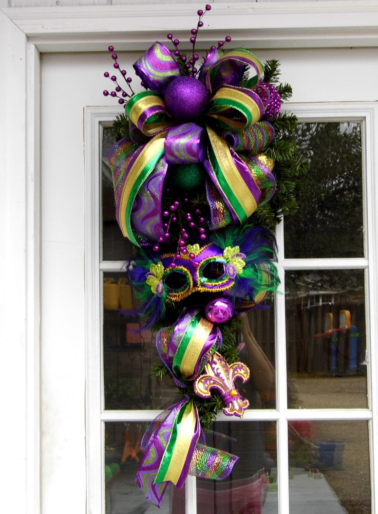17 Best Images About Mardi Gras Swags On Pinterest Mardi