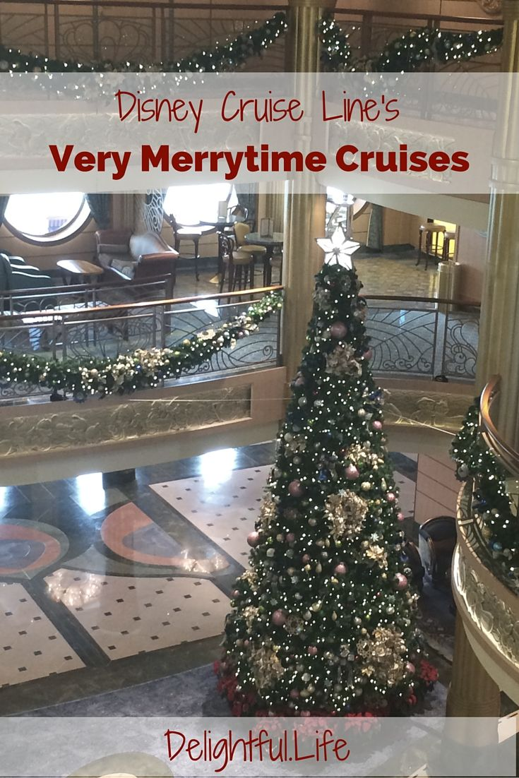 Disney Cruise Line's Very Merrytime Cruises (select sailings each November and December) are must-dos for any family that loves cruises or Christmas! The ships are all decked out, the activities are unparalleled, and you'll have one of the most magical vacations imaginable!
