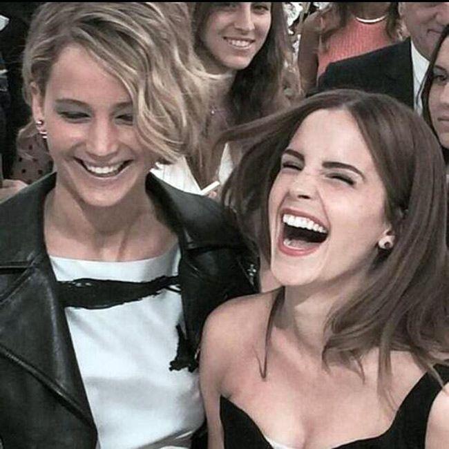Jennifer Lawrence, Emma Watson