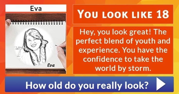 Let us guess your age from your profile picture!