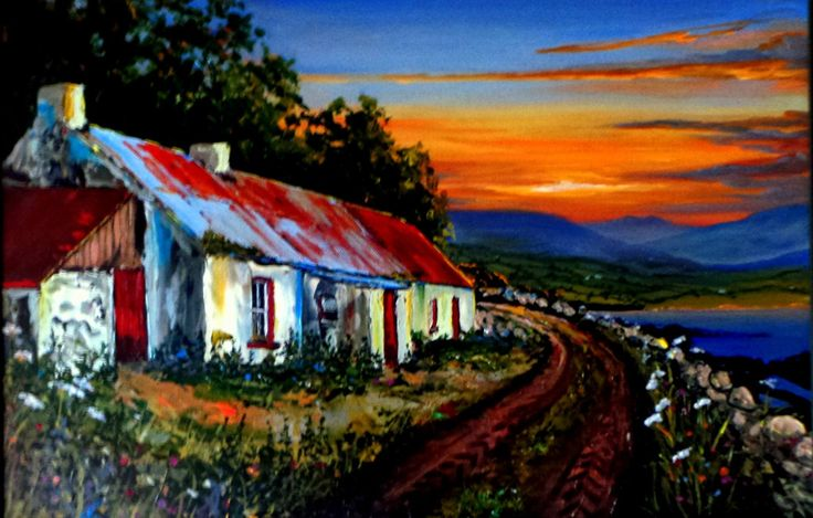Painted By Conor Larkin Self Taught And Amazing Artist