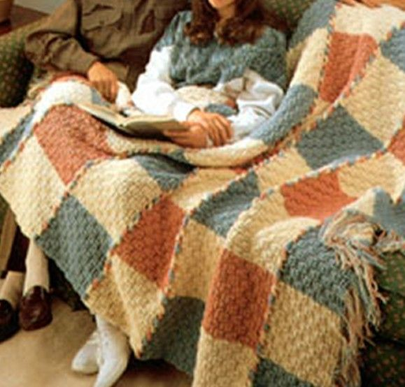 Basket Weave Pattern Knitting Afghan : Best images about crochet afghan blankets on