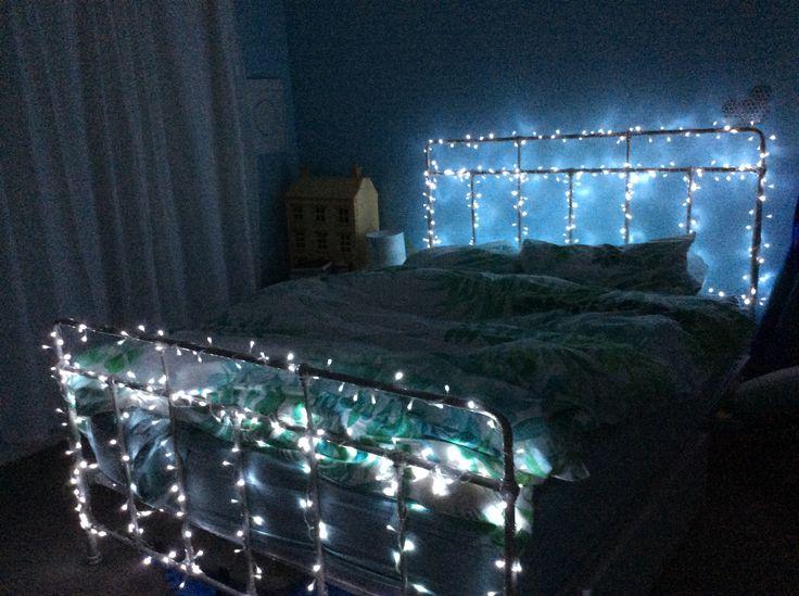 My new bed decor