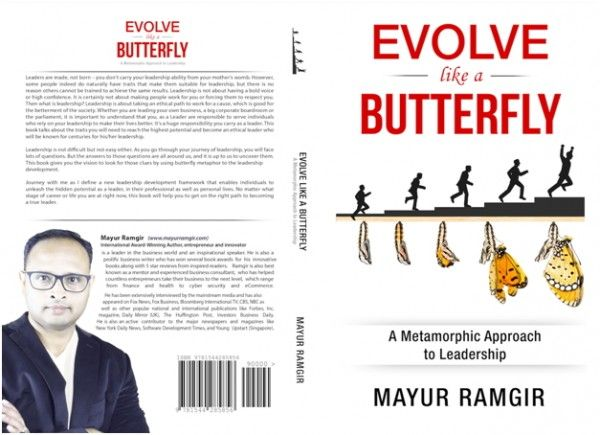 MAYUR RAMGIR'S 'Evolve Like a Butterfly' selected as finalist in the London Book Festival 2017