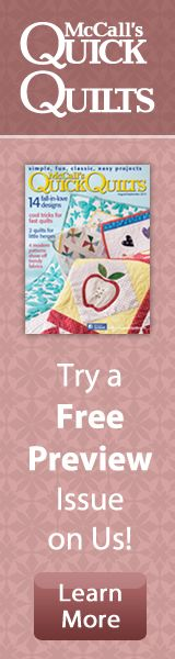 Top 12 FREE Quilt Patterns and Tutorials of 2014…For You! | McCall's Quilting Blog