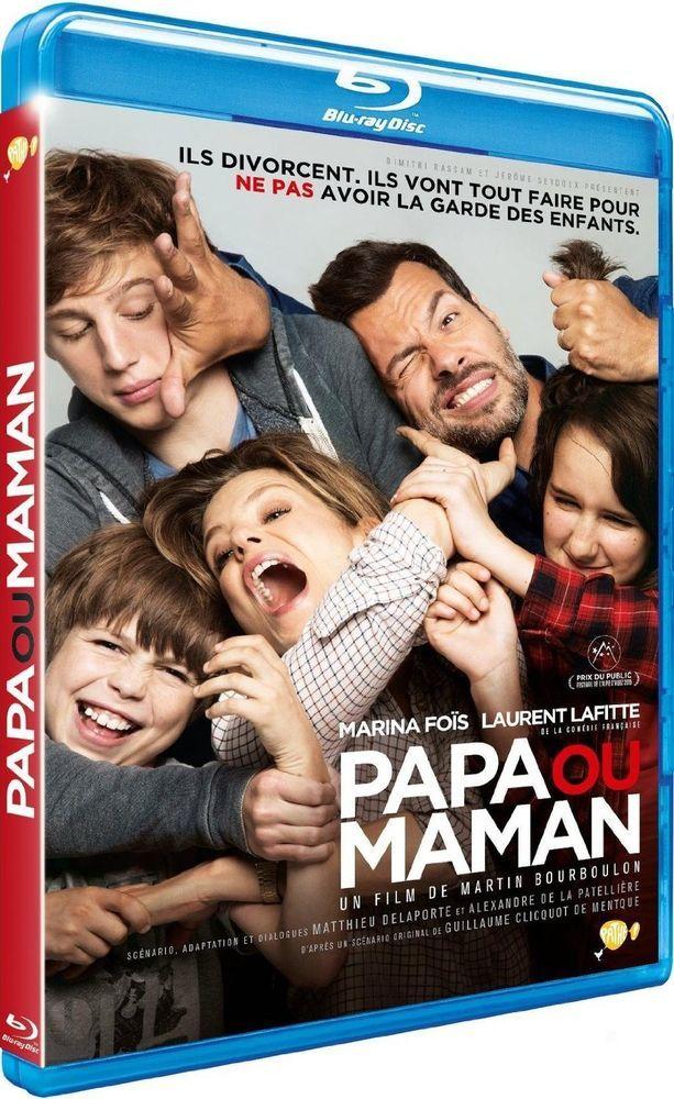 Papa ou Maman avec Laurent Lafitte et Marina Foïs- BLU-RAY