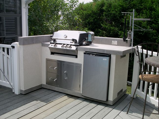 Elegant Stainless Steel Outdoor Grill Cabinets