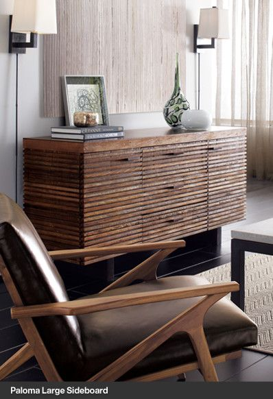 The perfect addition to your home with this gorgeous sideboard from Crate&Barrel! Oakridge Style Heist #oakridgestyleheist