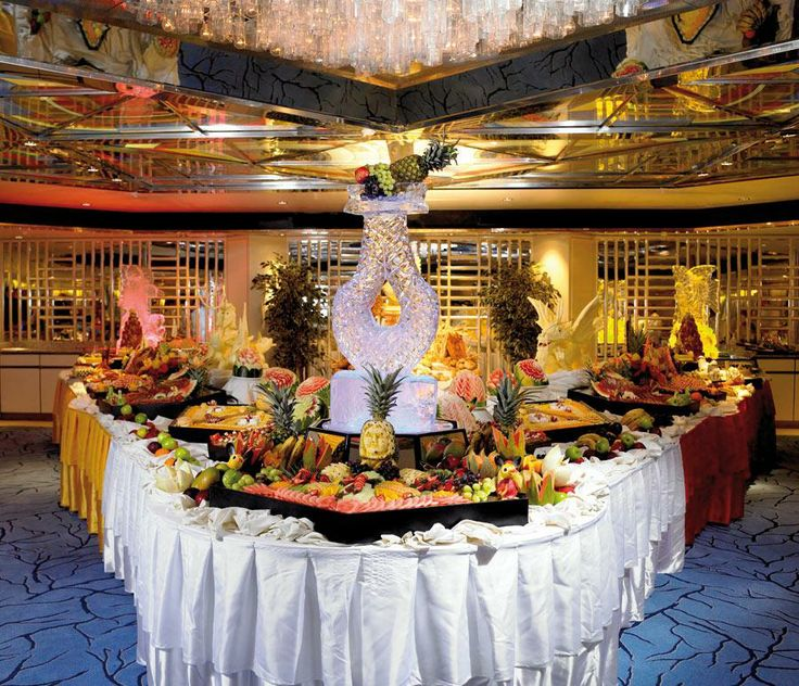 Oh yes remember all the food on a cruise buffet for Cruise ship with best food