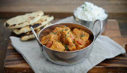 Chicken tikka masala is a British favourite and one that shouldn't rely on a phone call to the takeaway.