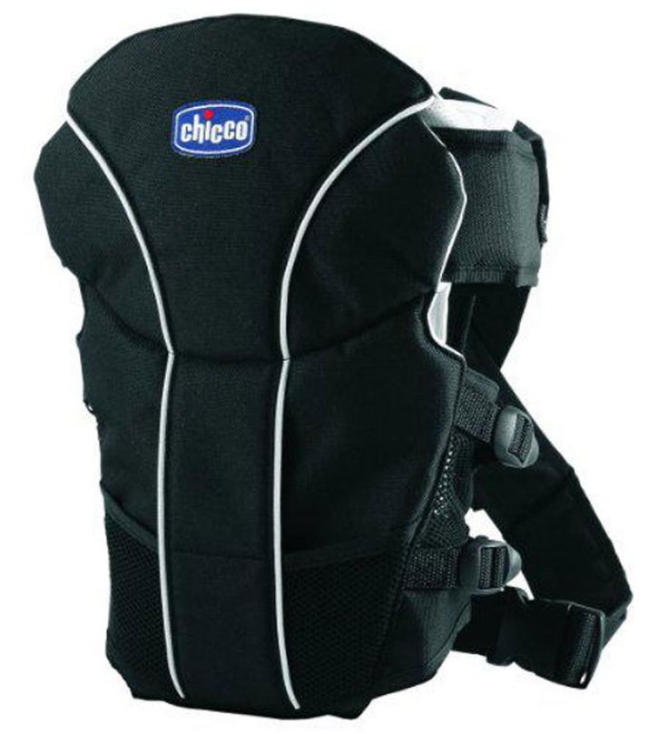 Chicco GO BABY CARRIER BLACK:-Keep your baby with you on the move! Chicco Go brings to you the Chicco Go Baby Carrier, a useful and value-for-money product which is a must for all parents. This carrier is made from breathable materials and is well-padded. A dribble bib, which is easy to remove and wash, is provided with the bag to clean your baby while you feed him/her on the move. The carrier can be used, facing inwards from birth and outward from 4 months. It even has a cross support at…