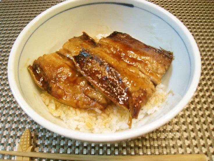 さんまの蒲焼き丼☆ 栄養満点(^^)美味しさも満点(*^^)v