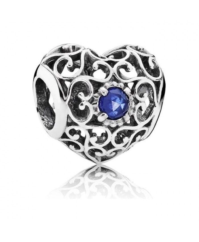 Pandora September Heart Birthstone Charm Pandora Jewelry Pandora Charms Disney Pandora Charms