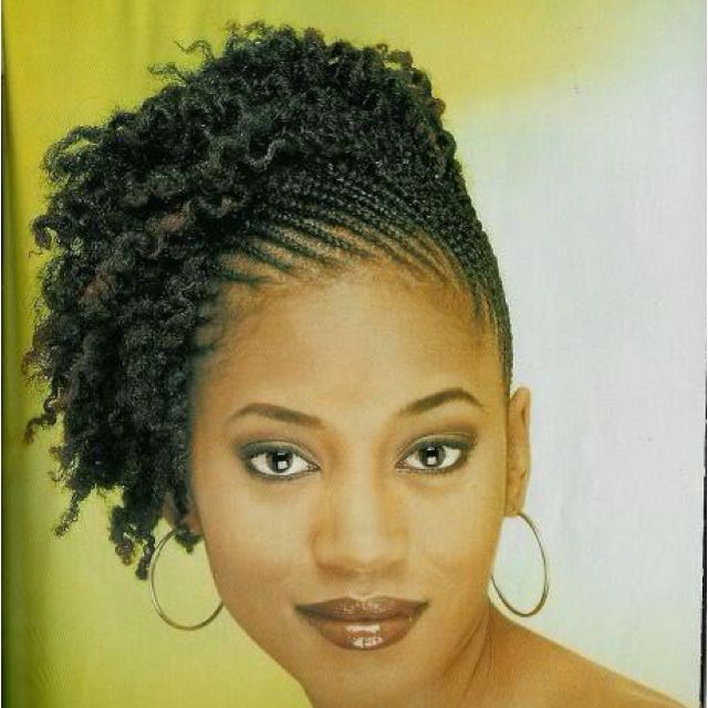 hair braid out styles side flat twist out hair 8685