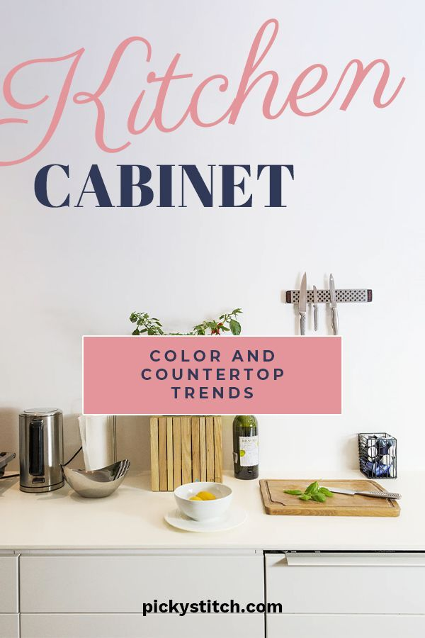 Kitchen Cabinet Color And Countertop Trends In 2020 Cabinet