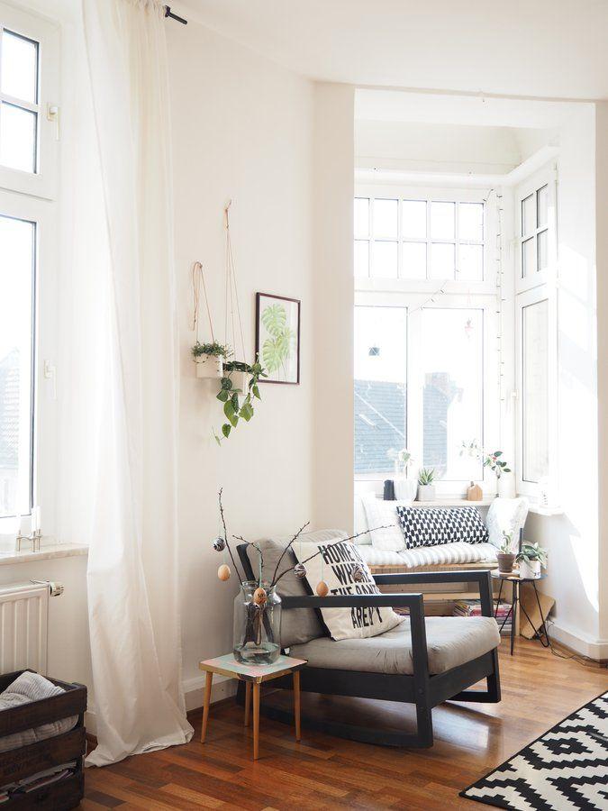 Hängepflanzen an der Wand (solebichde) Wohnideen Pinterest - vintage wohnzimmer grun