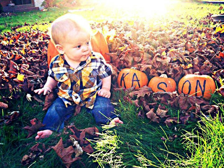 Fall picture idea. My son :) @Travis Pappan-Smith @travis smith