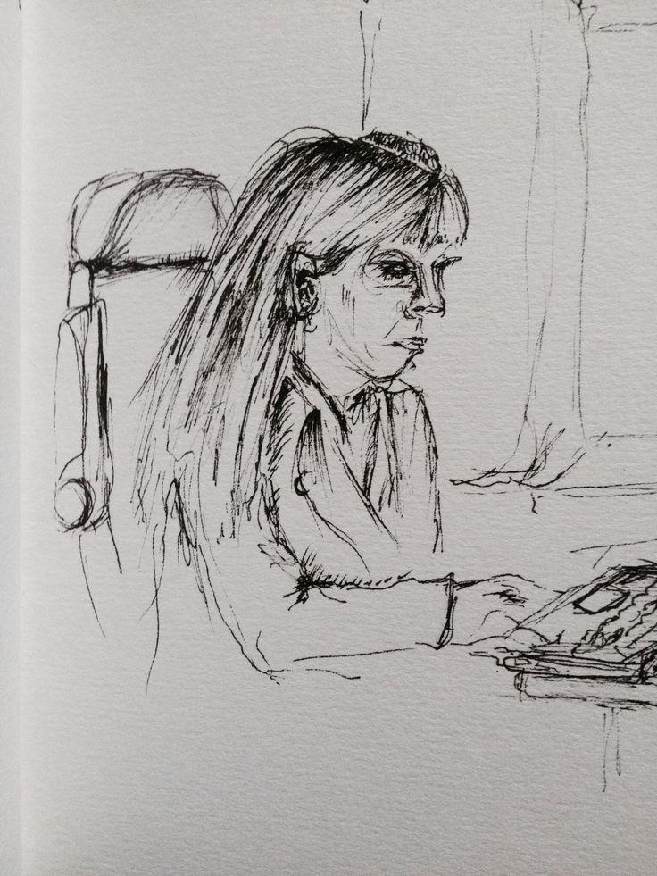 Lady on Train, Partial Peek