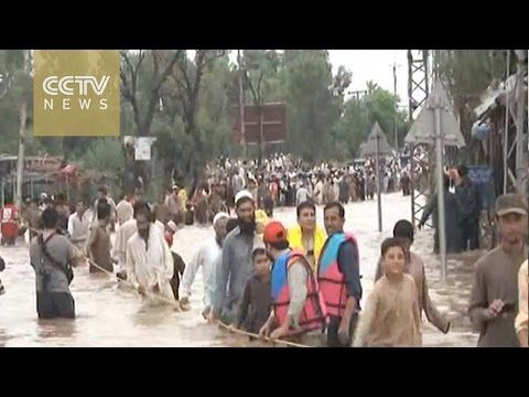 07/27/2015 - Widespread rainstorms and flash floods in Pakistan killed at least 51 people over the past 12 days. The country's National Disaster Management Authority says that more than a quarter of a million people have been affected by the freak conditions that have especially ravaged Punjab, Khyber Pakhtunkhwa and Balochistan provinces.
