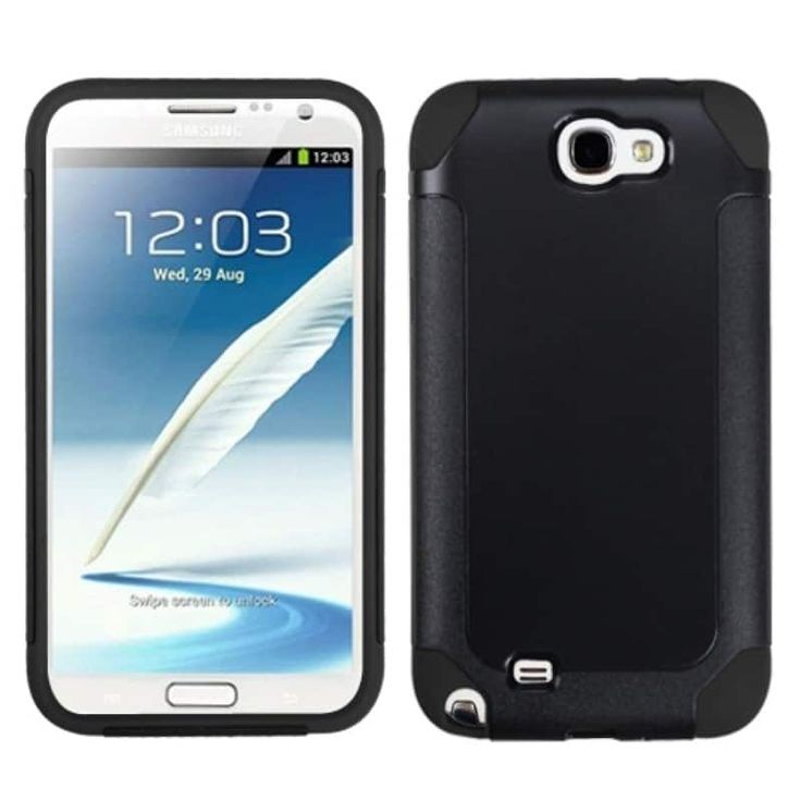 Insten Frosted Fusion Protector Cover for Samsung Galaxy Note II