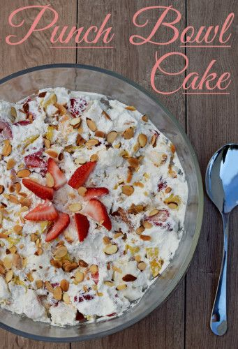 The perfect dessert for potlucks and cookouts, this Punch Bowl Cake can be made in as little as 30 minutes the night before.